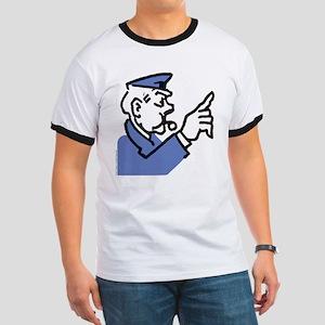 Monopoly Cop Ringer T