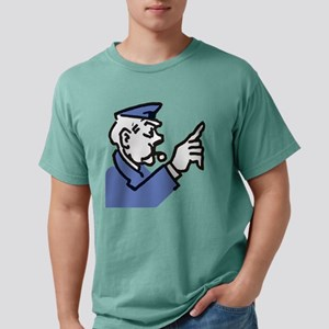 Monopoly Cop Mens Comfort Colors Shirt