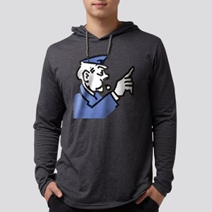 Monopoly Cop Mens Hooded Shirt