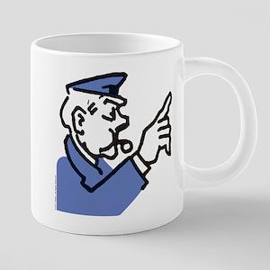 Monopoly Cop 20 oz Ceramic Mega Mug