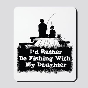 Fishing With  My Daughter Mousepad