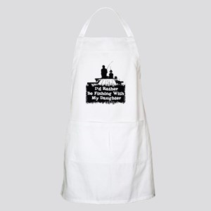 Fishing With  My Daughter Apron