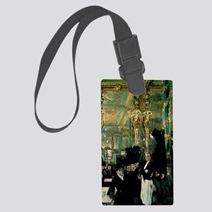 The Cafe Royal, London - paintin Large Luggage Tag