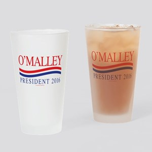 Martin O'Malley for President Drinking Glass