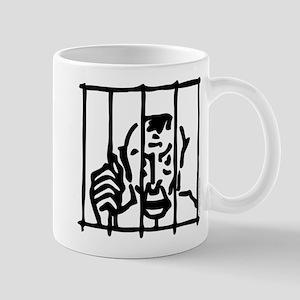 Monopoly In Jail 11 oz Ceramic Mug
