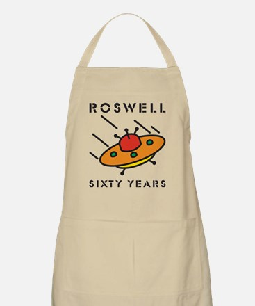 The 1947 Roswell UFO incident BBQ Apron