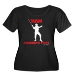 Ham Stabbeth First (special Plus Size T-Shirt