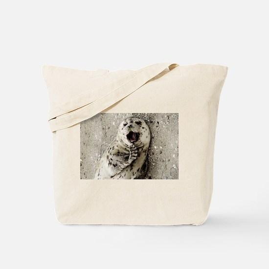 Harbor Seal Pup Tote Bag
