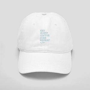 Coffee Code Repeat Cap