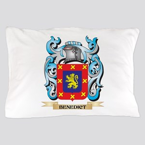 Benedict Coat of Arms - Family Crest Pillow Case