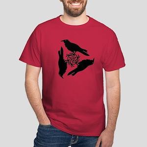 Raven Triskel Dark T-Shirt
