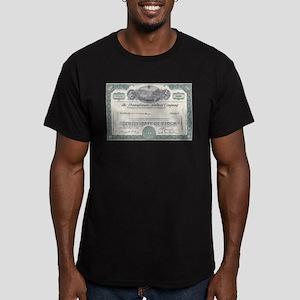 Pennsylvania RR Men's Fitted T-Shirt (dark)