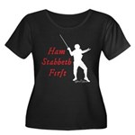 Ham Stabbeth First (classic) Plus Size T-Shirt
