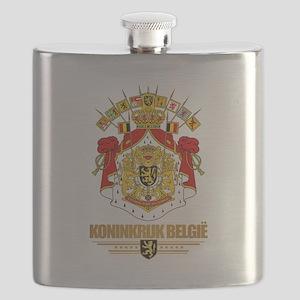Belgium COA Flask