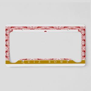 Buzzito License Plate Holder