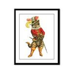Puss in Boots Framed Panel Print