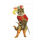 Puss in Boots Sticker (Rectangle 10 pk)