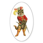 Puss in Boots Sticker (Oval 10 pk)