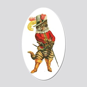 Puss in Boots 20x12 Oval Wall Decal