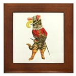 Puss in Boots Framed Tile