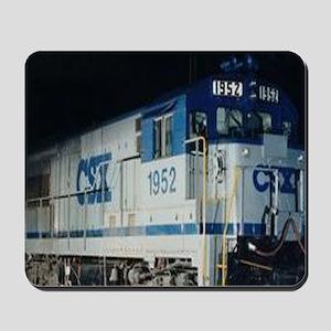 Train Engine Mousepad