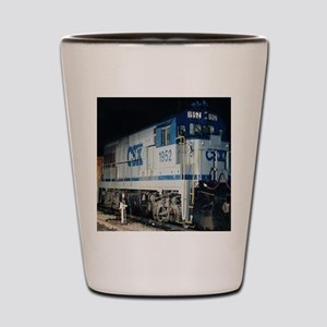 Train Engine Shot Glass