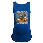 What Ever Floats your Goat Maternity Tank Top