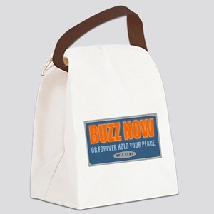 Buzz Now Canvas Lunch Bag