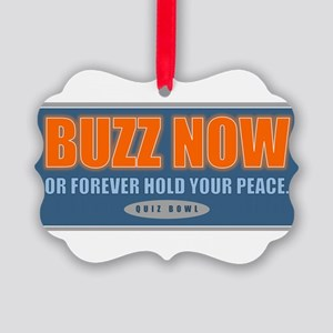 Buzz Now Ornament