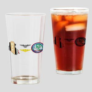 Oif Ac Aw Reagan Drinking Glass
