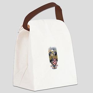 large vet_001 Canvas Lunch Bag
