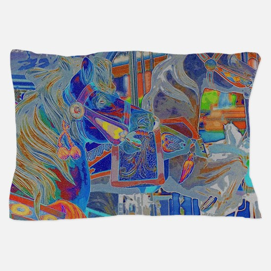 Cute Carousel Pillow Case