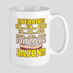 Funny: Eggs Are Sides for Bacon! Mugs