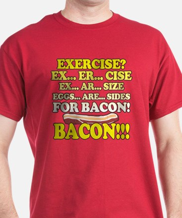 Funny: Eggs Are Sides for Bacon! T-Shirt