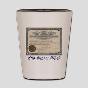 Ato Old School Shot Glass