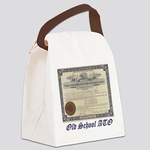 ATO Old School Canvas Lunch Bag