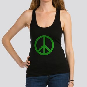green peace Racerback Tank Top