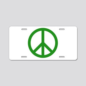 green peace Aluminum License Plate