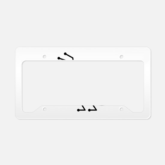 Ant License Plate Holder