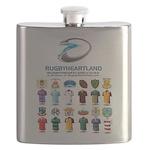 Rugbyheartland Flask