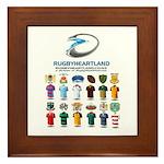 Rugbyheartland Framed Tile