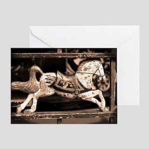 Little Vintage Horse Greeting Card
