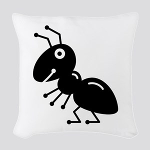 Ant Woven Throw Pillow