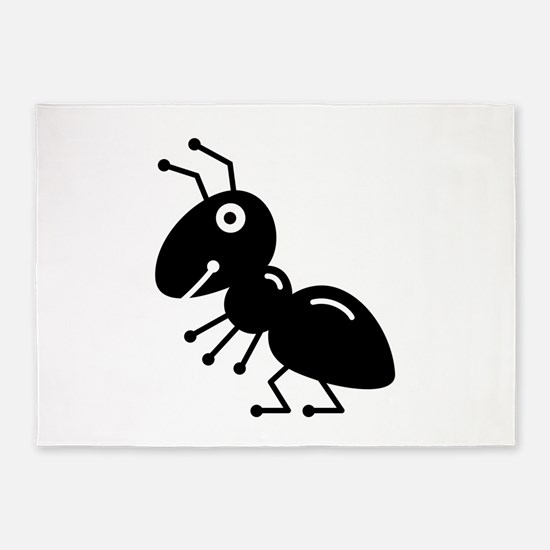 Ant 5 X7 Area Rug