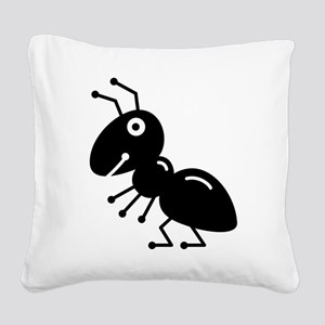 Ant Square Canvas Pillow