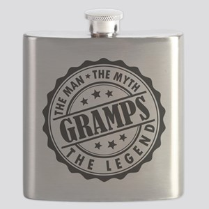 Gramps - The Man The Myth The Legend Flask