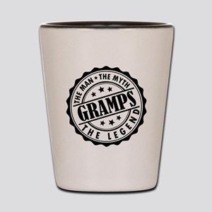 Gramps - The Man The Myth The Legend Shot Glass