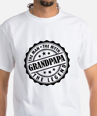 Grandpapa - The Man The Myth The Legend T-Shirt