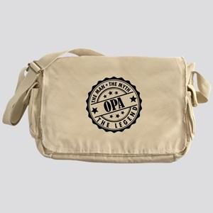 Opa - The Man The Myth The Legend Messenger Bag