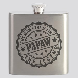 Papaw- The Man The Myth The Legend Flask